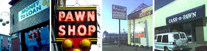 Low prices at local pawn shops, plus payday loans for those with bad credit